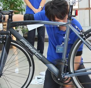 自転車整備士の資格を持つ ...